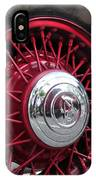 V8 Wheels IPhone Case