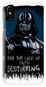 Vader IPhone Case by Antonio Romero