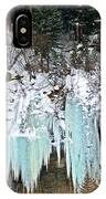 Vail Ice Falls IPhone Case
