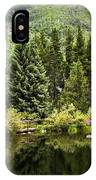 Vail Reflections In The Summer IPhone Case
