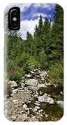 Vail Stream In The Summer 2 IPhone Case