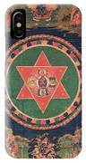 Vajravarahi Mandala IPhone Case