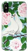 Valentine Doves IPhone Case