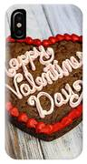 Valentines Cookie  IPhone Case