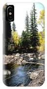 Vallecito Colorado I IPhone Case