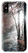 Valley Creek Sunrise IPhone Case