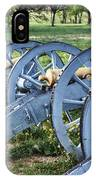 Valley Forge Artillery Park IPhone Case