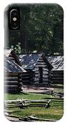 Valley Forge Barracks IPhone Case