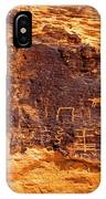 Valley Of Fire Ancient Petroglyphs IPhone Case
