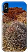 Valley Of Fire Barrels IPhone Case