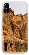 Valley Of Fire Cabins IPhone Case