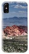 Valley Of Fire Iv IPhone Case