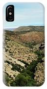 Valley View Of Whitesands IPhone Case