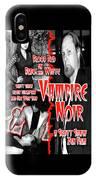 Vampire Noir IPhone X Case