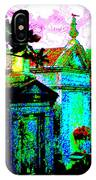 Vampire Tombs New Orleans IPhone Case