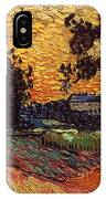 Van Gogh: Castle, 1890 IPhone Case