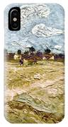 Van Gogh: Fields, 1888 IPhone Case