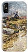 Van Gogh: Gardens, 1887 IPhone Case