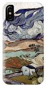 Van Gogh: Landscape, 1890 IPhone Case
