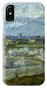 Van Gogh: Peach Tree, 1889 IPhone Case