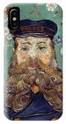 Van Gogh: Postman, 1889 IPhone Case