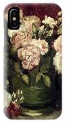 Van Gogh: Roses, 1886 IPhone Case
