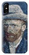 Van Gogh: Self-portrait IPhone Case
