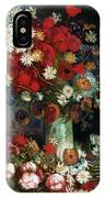 Van Gogh Still Life 1886 IPhone Case