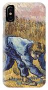 Van Gogh: The Reaper, 1889 IPhone Case