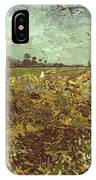Van Gogh: Vineyard, 1888 IPhone Case