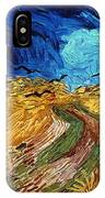 Van Gogh: Wheatfield, 1890 IPhone Case