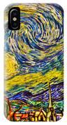 Van Gogh's 'starry Night' - Hdr IPhone Case
