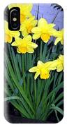 Vancouver Daffodils IPhone Case