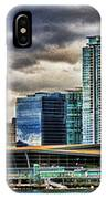 Vancouver Skyline Hdr IPhone Case