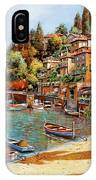 Varenna On Lake Como IPhone Case