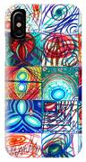 Variety Of Space Galaxies Stars Anomalies. Part 1 IPhone Case