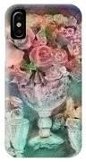 Vase Full Of Roses IPhone Case