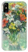 Vase Lilies Painting IPhone Case