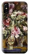 Vase Of Flowers, 1871  IPhone Case