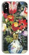 Vase With A Bird IPhone Case