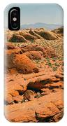 Vast Desert Valley Of Fire IPhone Case
