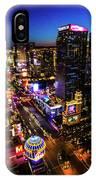 Vegas At Dusk IPhone Case
