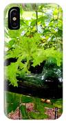 Vegetable Growing In Used Water Bottle 7 IPhone Case