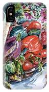 Vegetable Harvest IPhone Case