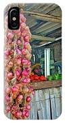 Vegetable Stand 2 IPhone Case
