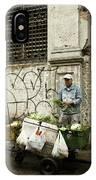 Vegetable Vendor Havana Cuba IPhone Case