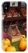 Vegetables In A Market, Grand Rapids IPhone Case