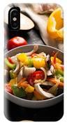 Vegetables Stir Fry IPhone Case