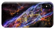 Veil Nebula - Rainbow Supernova  IPhone Case