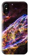 Veil Nebula Supernova Remnant IPhone Case